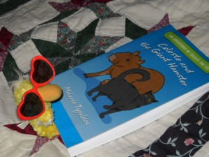@GeorgeTheDuck reading my book!