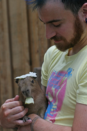 Babybara with Carl