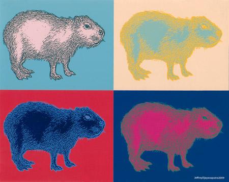 Jeff Djayasaputra's Capybara Quadrille
